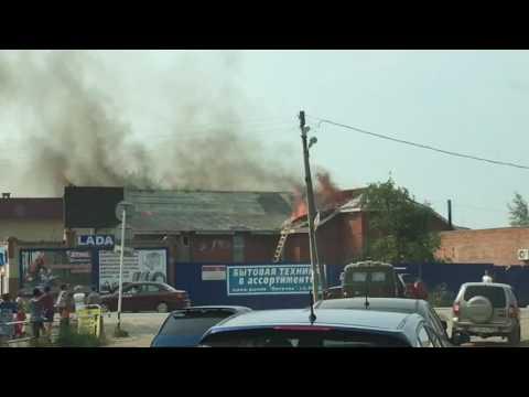 Пожар в Кудымкаре, 23.07.2016