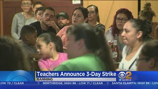 Teachers In Banning Launch Strike On First Day Of School