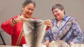 Material Traditions - Sewing Salmon