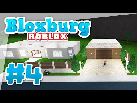 Bloxburg #4 - NEW GARAGE BUILD (Roblox Welcome to Bloxburg)