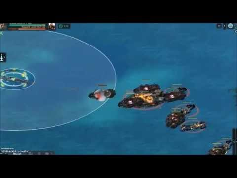 Battle Pirates - StormRunner - 3 TigerSharks verses lvl105 Reaver Stronghold