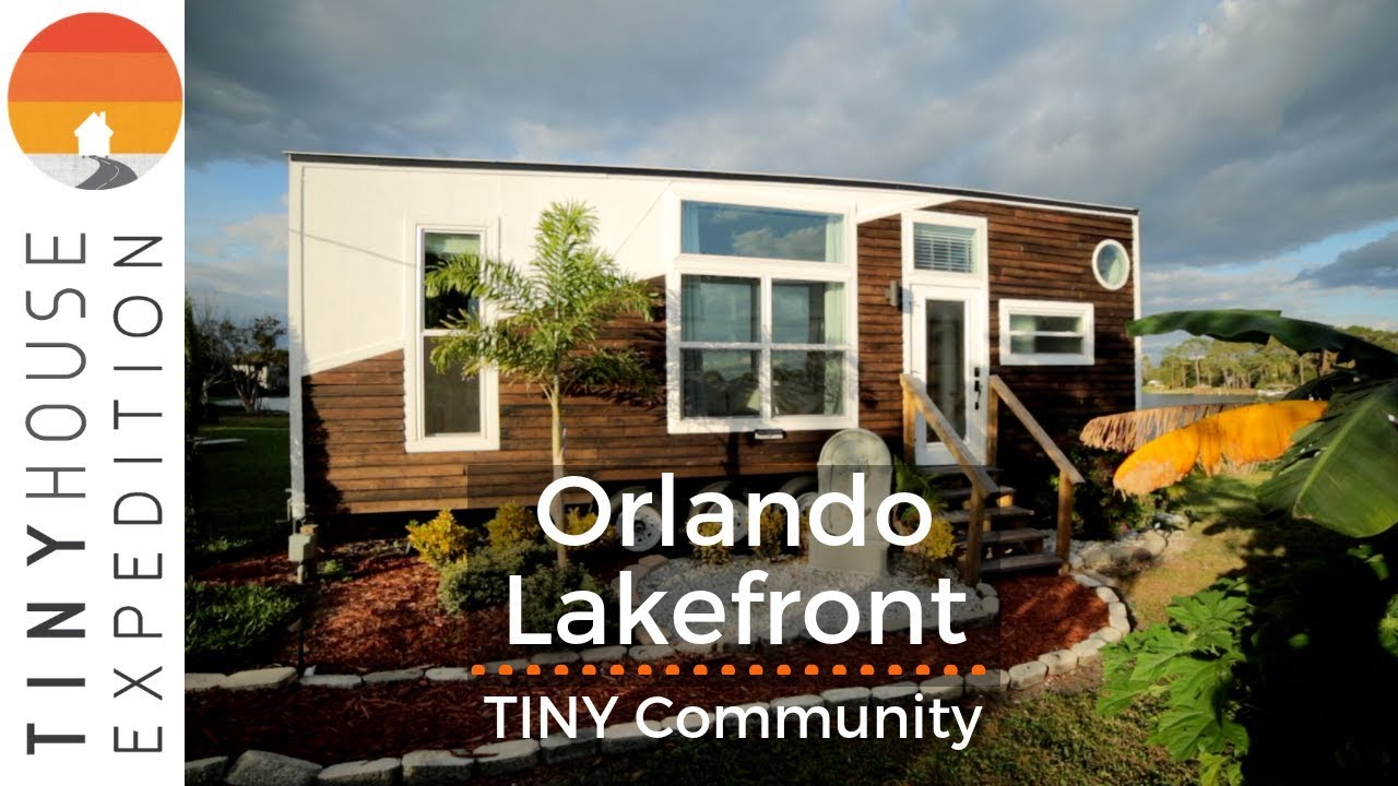 Orlando's Thriving Lakefront Tiny Home Community with Gorgeous Rentals