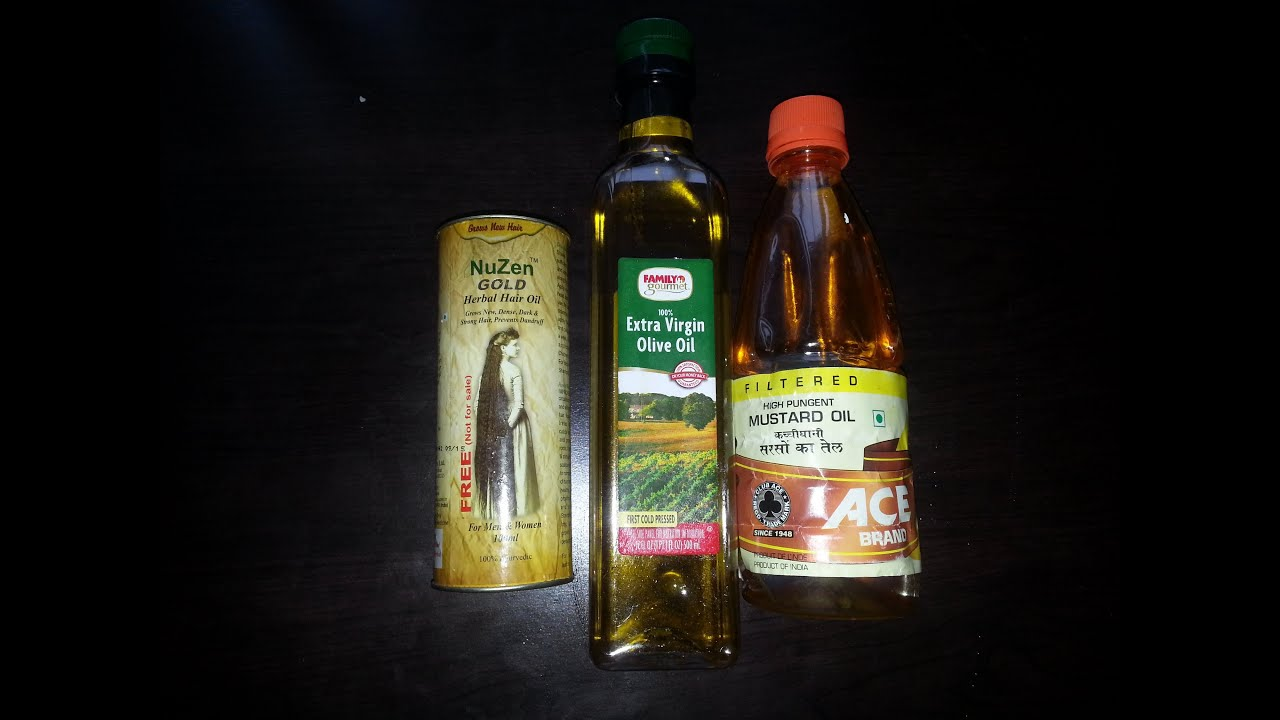 Demo How I Use Mustard Oil For Fast Hair Growth Youtube