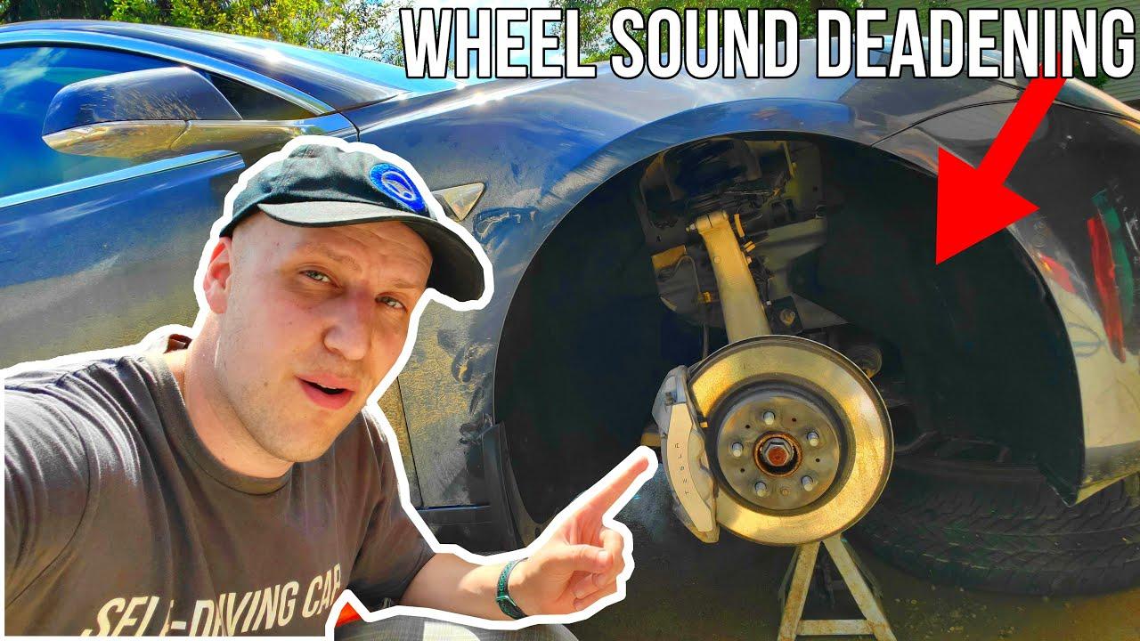 Basenor Tesla Model 3 Wheel Well Sound Deadening Mat Review | Quest For Quiet Episode 1 |