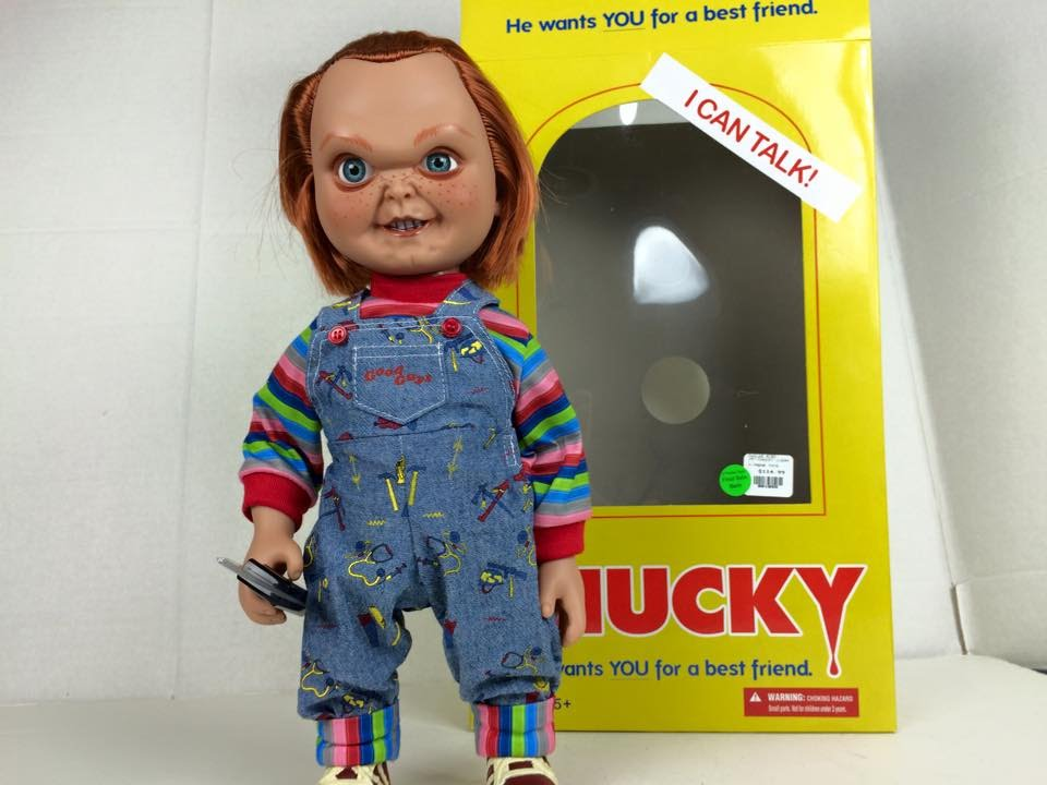 Toys R Us Chucky : Mezco toyz quot mega good guy chucky action figure with