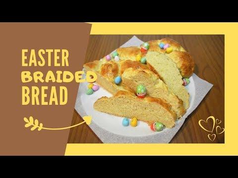 Braided Easter Bread | Fonott Húsvéti Kalács | Easy Recipe