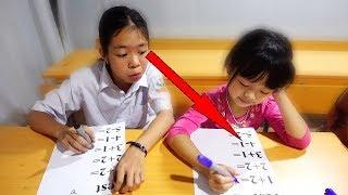 Hunter Kids Go To School Learn Colors MATH | Classroom Funny Nursery Rhymes thumbnail