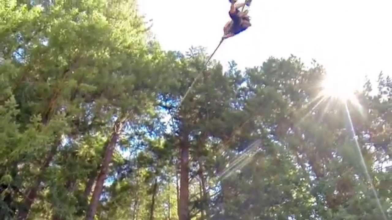 Ziplines In Oregon Out N About Treehouse Treesort Youtube