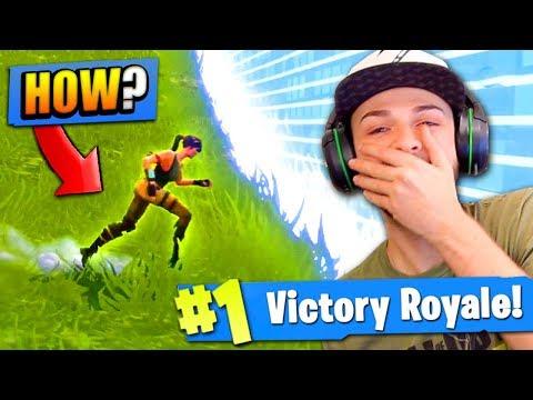 WINNING as a *NOOB* in Fortnite: Battle Royale!