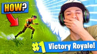WINNING as a *NOOB* in Fortnite: Battle Royale!