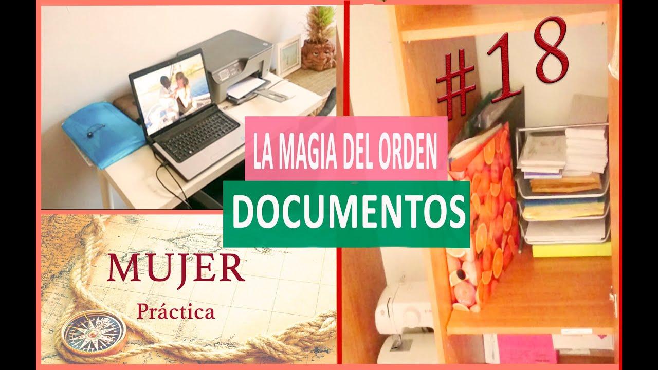 Ordenar oficina con m todo konmari 18 youtube for Practica de oficina definicion