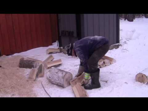 Firewood Processing Traditional vs Range Road 2000