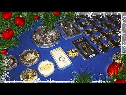 2017 Christmas Gold and Silver Bullion Stack Update