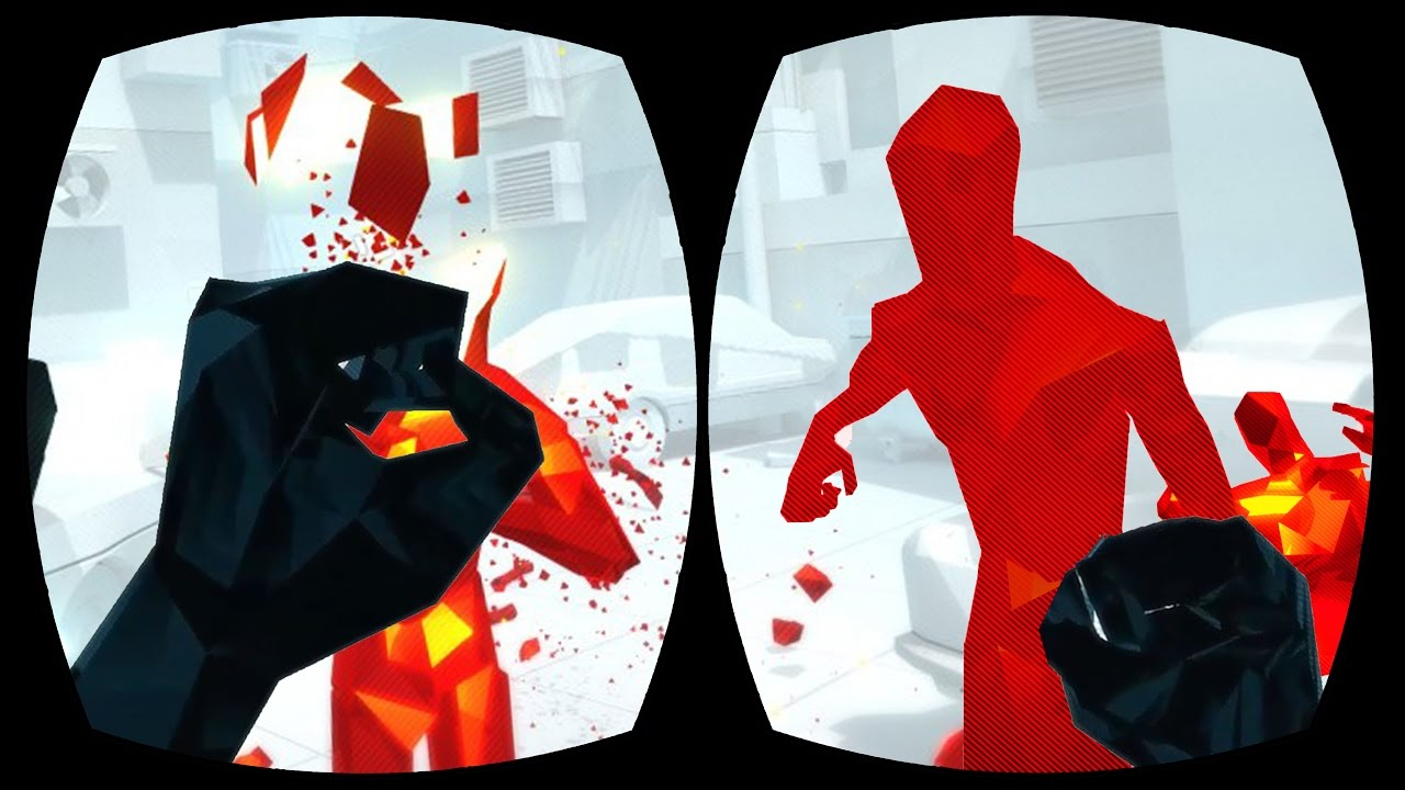 how to play superhot with vive