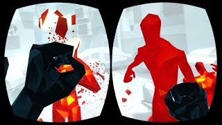 BECOMING A TIME LORD! - SuperHOT #1 (HTC Vive VR Gameplay)
