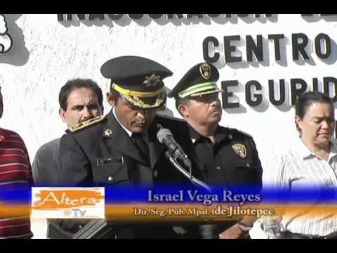 Inauguración edificio de Seguridad Pública Municipal en Jilotepec, México.avi