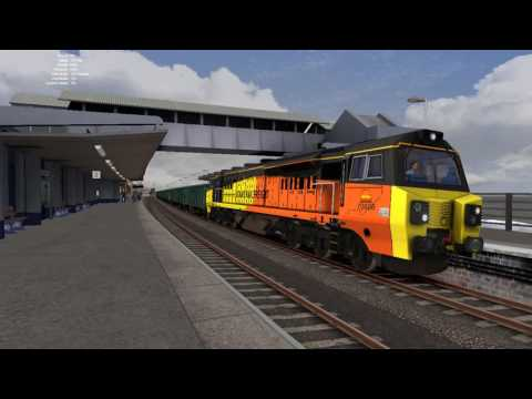 Freight, Stock Moves And A Charter At Dawlish - Train Simulator 2016