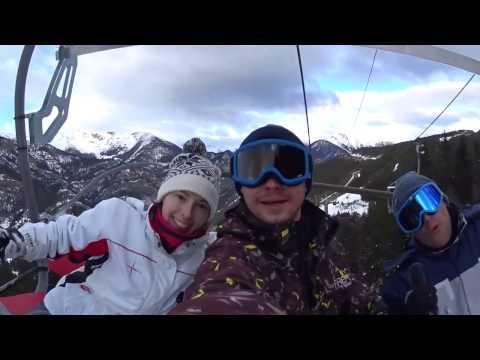 Andorra trip snowboarding