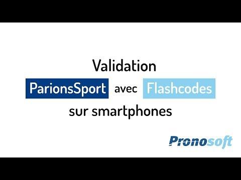 Comment valider des jeux ParionsSport avec des Flashcodes ?