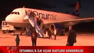İstanbul'a İlk UÇak Kafİlesİ GÖnderİldİ