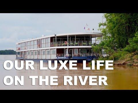 Mekong River Cruise Episode 2: Avalon Siem Reap Cruise Ship Tour