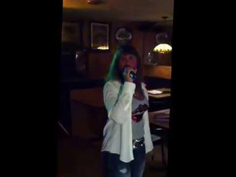 2015 live video   Lorie Wildman   Girl Crush  karaoke clip