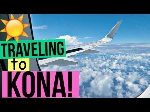 Traveling To Kona Hawaii | Day 1