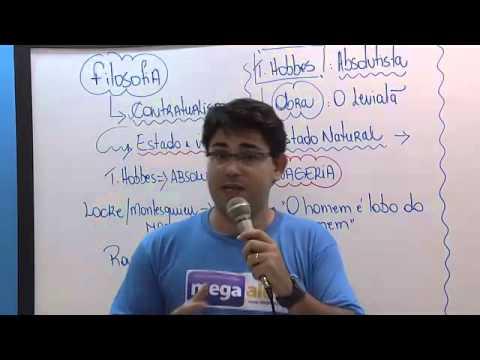 AULA DE SOCIOLOGIA-   CONTRATUALISMO- THOMAS HOBBES