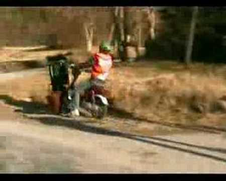 Put-in-Bay Funny Moped Crash