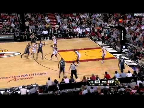 (04\03\2011) Magic vs. Heat Mike Bibby debut at Miami Heat