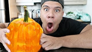 DIY GIANT GUMMY PUMPKIN!