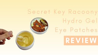 Secret Key Gold Racoony Hydro Gel Eye Patches