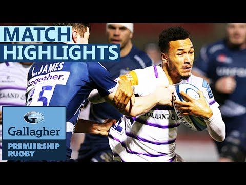 Sale 32-5 Leicester | Sale Score Six As Sione Sees Red | Gallagher Premiership - Highlights