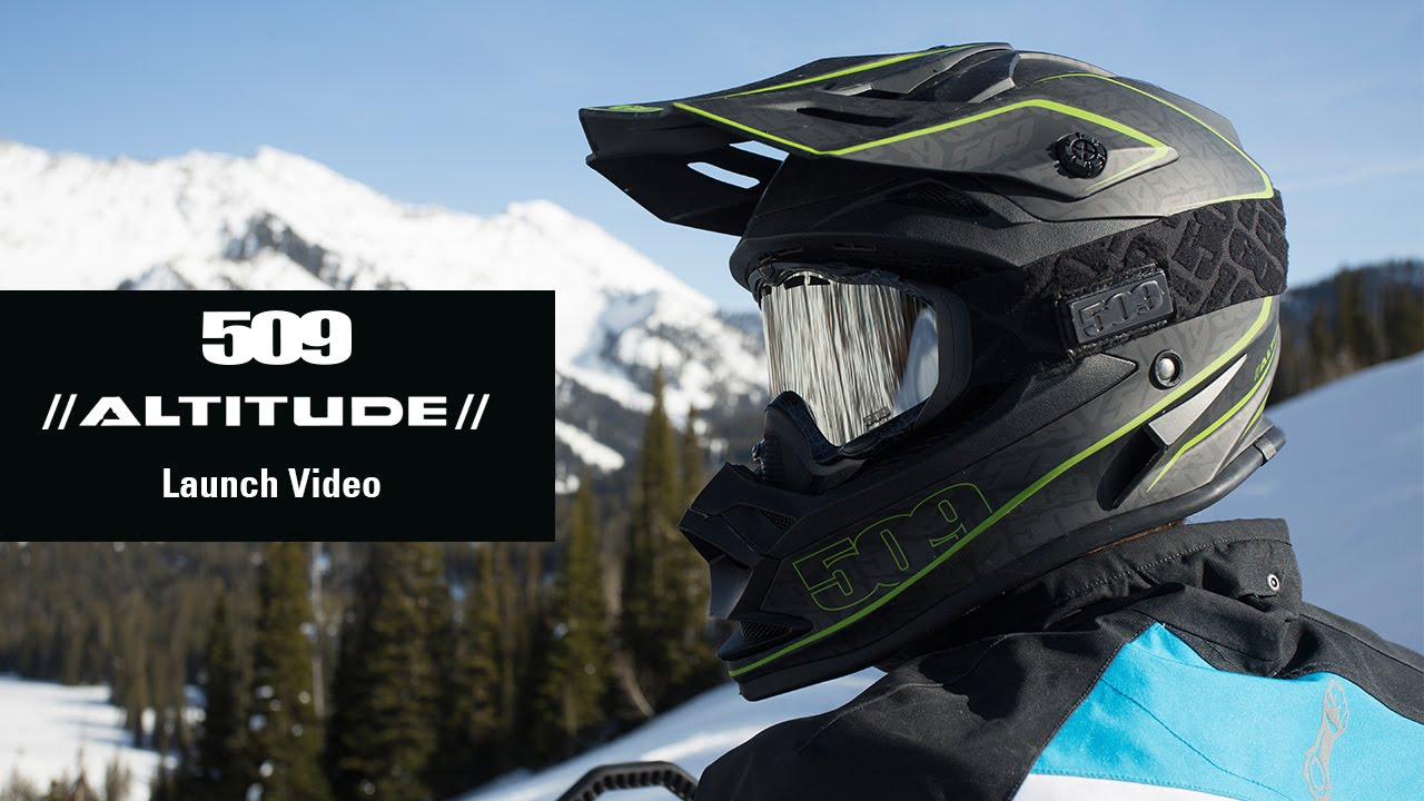 d20525b6f0 509 - Altitude Snowmobile Helmet Launch Video - YouTube