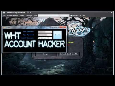 Near Reality Account Hack V1! 2012 WHT!
