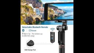 (Episode 2325) Amazon Prime Unboxing: Mpow Upgraded Selfie Stick Bluetooth 2-in-1 Tripod @amazon