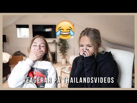 REAGERAR PÅ GAMLA THAILANDSVIDEOS FT. Wilda