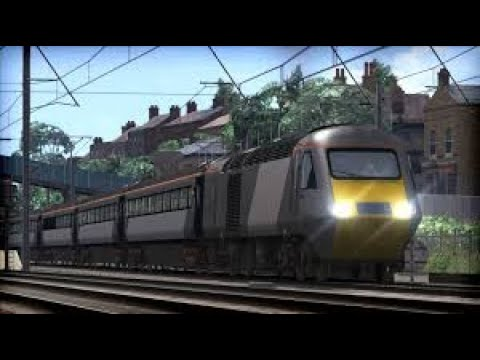 Train Simulator 2020 gameplay with the hst  
