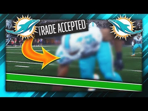 BEST EVER PLAYER TO BE TRADED IN HISTORY! (Madden NFL Franchise)