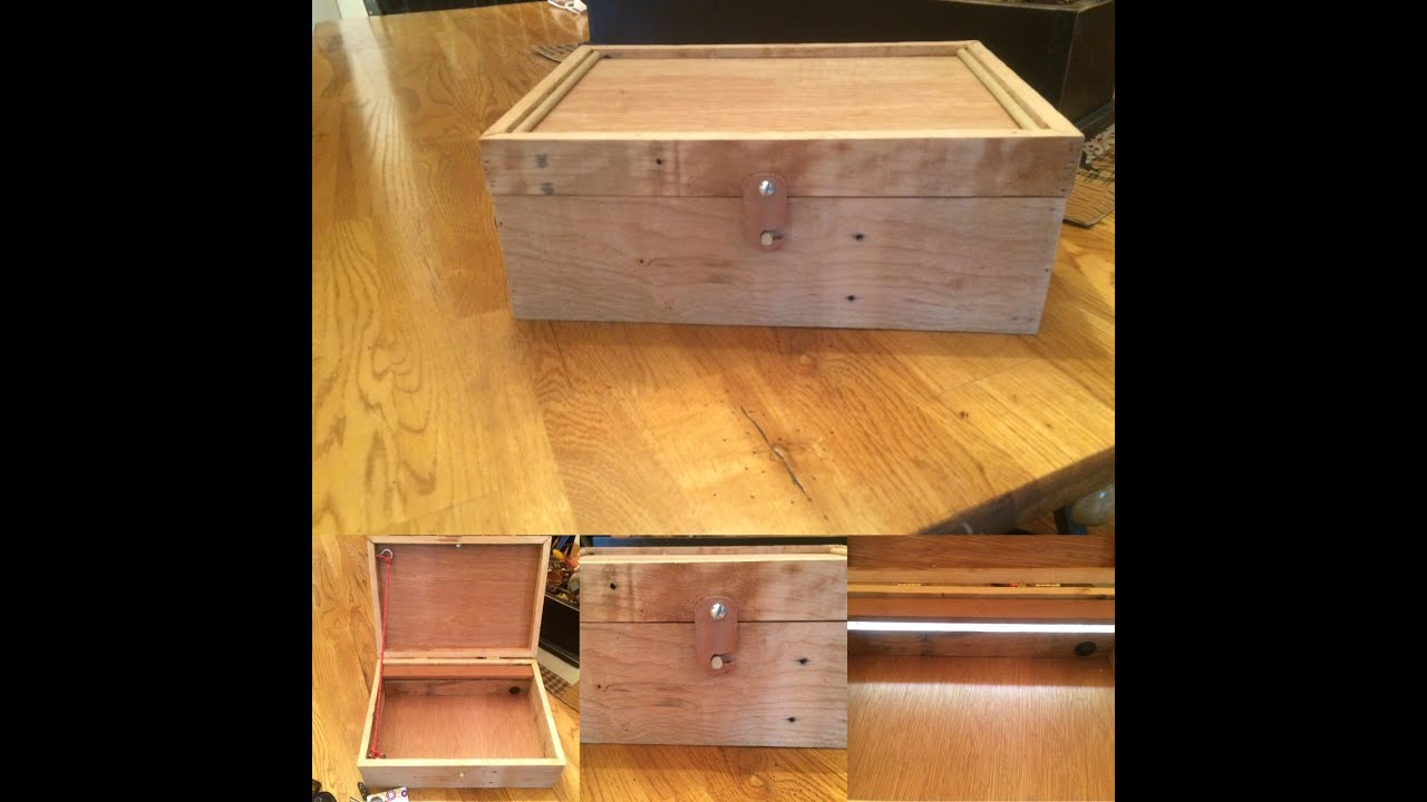 LaBelle Pallet Jewelry Box (1 of 3) - YouTube