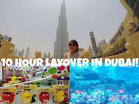 DUBAI VLOG | 10 HOUR LAYOVER  | TRAVEL VLOG | LoGirlsThoughts