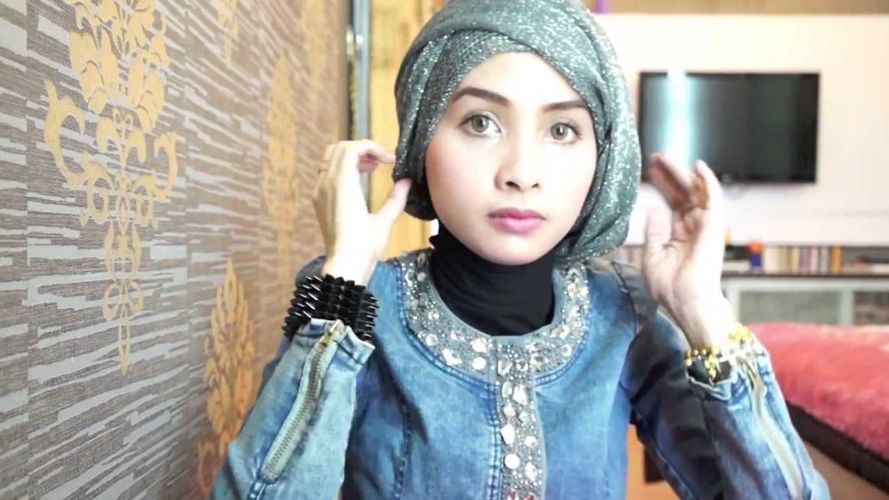 Hijab Tutorial 8 For Graduation Or Party By Ellend YouTube