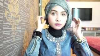 Hijab Tutorial (#8) for graduation or party - by Ellend