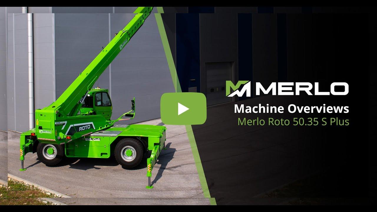 Merlo Roto 50.35 S PLUS - Advanced Telehandler