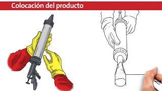 Aplicación de Sellador Poliuretánico Protex PU 40C