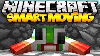 Minecraft: SMART MOVING! (Crawling, Diving, Climbing, & MORE!) | Mod Showcase