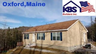 Modular Home Delivery  Crane Lifting onto ICF foundation   maine source realty