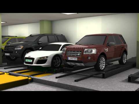 FATA Shuttle Automated Parking System: OAL