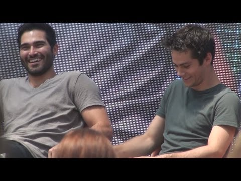 Dylan O'brien & Tyler Hoechlin | Full panel, Alpha Con 2014, Vienna