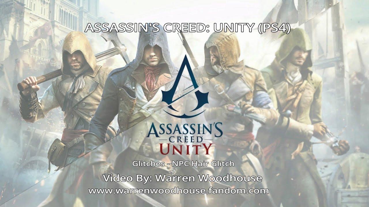 Assassin S Creed Unity Ps4 Npc Hair Glitch Youtube